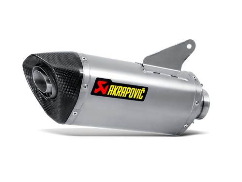 AKRAPOVIC S-D9SO8-RT SLIP-ON EXHAUST  TITANIUM MUFFLER W CARBON FIBER CF END CAP  DUCATI HYPERSTRADA 939 2016 16