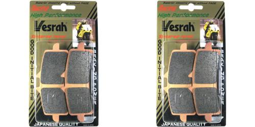 VESRAH VD-170RJL SINTERED RACE BRAKE PADS FRONT PAIR BOTH SIDES CBR1000RR 04-16