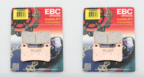 EBC FA390HH HH 2 PAIR OF PADS FOR BOTH SIDES OF THE FRONT ROTORS   HONDA CBR1000RR CBR1000 FIREBLADE CBR 1000 1000RR