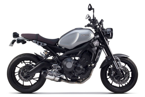 TWO BROTHERS 2 BROS  FULL EXHAUST SYSTEM S1-R S1R BLACK SERIES ALUMINUM MUFFLER STAINLESS HEADER / COLLECTOR & MID / LINK PIPE Yamaha FJ-09 (2015-16) / XSR900 (2016)  15 16 2015 2016