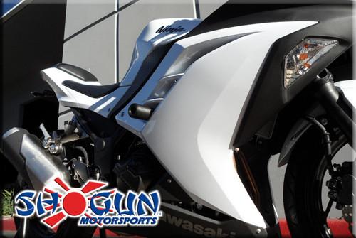 SHOGUN 755-4129 NO CUT COMPLETE SLIDER KIT NINJA 300 300R 13-17