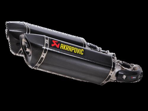 Akrapovic Slip-On Exhaust Ducati Monster 696 / 796 / 1100 S-D10SO7-HZC