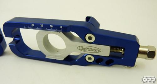 LighTech Chain Adjuster indigo cbr1000rr cbr600rr  08-16 TEHO001-IND