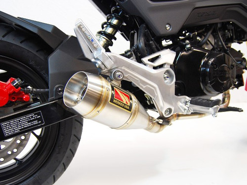 COMPETITION COMP WERKES WH126 FULL EXHAUST HONDA GROM MSX 125 2017