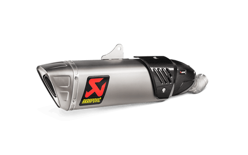 AKRAPOVIC S-H10SO17-HAPXLT/1 TITANIUM SLIP-ON EXHAUST CBR1000RR 17-21