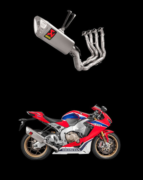 AKRAPOVIC S-H10R8-APLT RACE FULL EXHAUST SYSTEM HONDA CBR1000 CBR 1000 1000RR CBR1000RR 2017 2018 17 18 2019 19