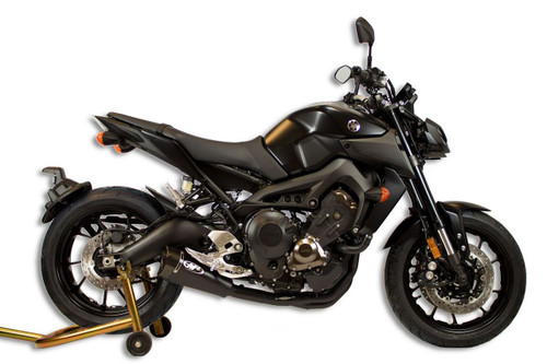 M4 YA6922 RM1 STAINLESS / CARBON  BLACK  FULL EXHAUST SYSTEM  YAMAHA FZ-09 FZ9 900 FZ09 MT09 MT-09 14 15 16 17 18 2014 2015 2016 2017 2018