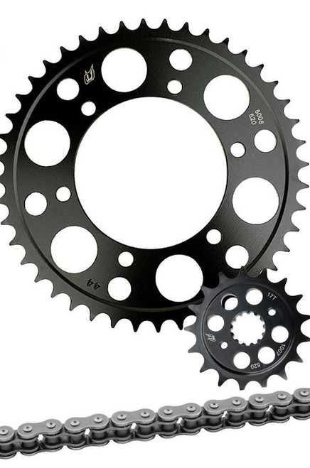 520 CHAIN & SPROCKET KIT DRIVEN SPROCKETS IN CHOICE OF # TEETH