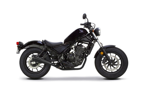 TWO BROS 005-4830499-B Honda REBEL 300 / 500 (2017-2018) Ceramic Black Comp-S Slip On EXHAUST