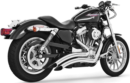 FREEDOM PERFORMANCE HD00210 CHROME SHARP CURVE RADIUS EXHAUST SOFTAIL