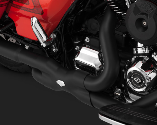 VANCE & HINES 46871 HEADERS BLACK HARLEY TOURING 17-18 POWER DUALS