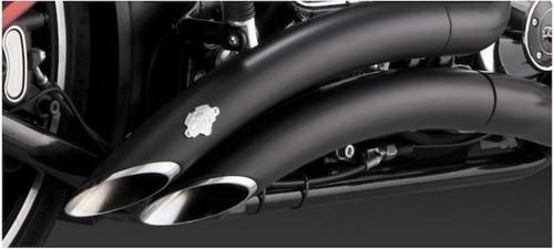 Vance & Hines Big Radius Exhaust For Harley Breakout 2013-2017 Black