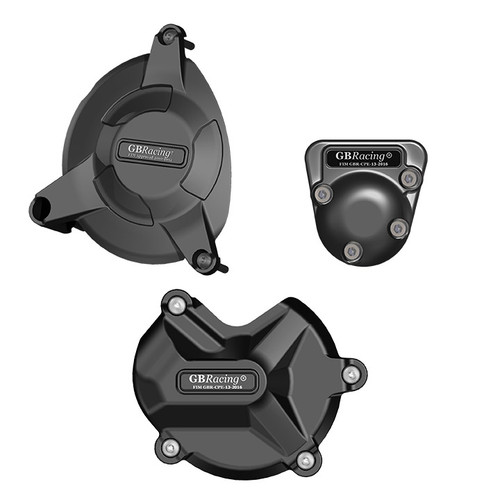 GB RACING COMPLETE ENGINE COVER SET S1000RR & S1000R 2009 - 2016 EC-S1000RR-2009-SET-GBR