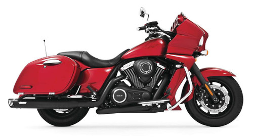 FREEDOM PERFORMANCE MK00010 BLACK FULL RACE DUAL EXHAUST SYSTEM 1700 VULCAN