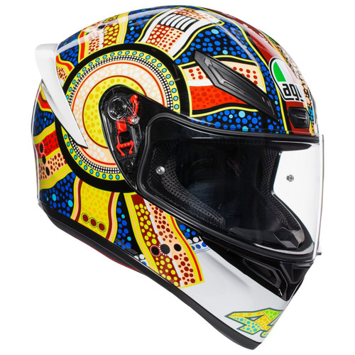 AGV K1 DREAMTIME 46 ROSSI Helmet 0281O0I0005009 ALL SIZES