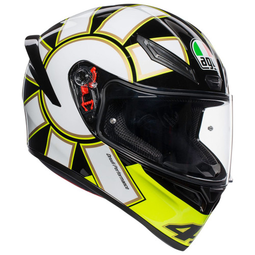 AGV K1 GOTHIC 46 ROSSI Helmet 0281O0I0006009 ALL SIZES