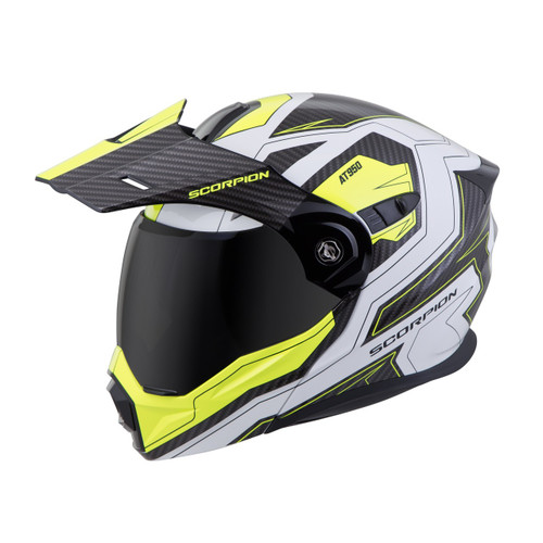 b0ae012f ... SCORPION EXO-AT950 Hi-Viz Yellow TUCSON HELMET ALL SIZES 95-0605