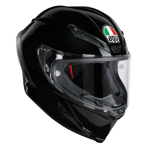 AGV CORSA R GLOSS BLACK HELMET ALL SIZES 6121O4HY00209