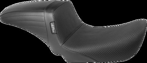 LePera Black Kickflip Basket Weave Seat LK591BW DYNA 06-17