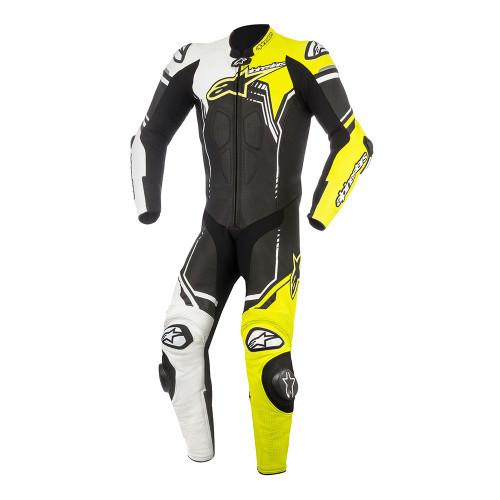 Alpinestars GP Plus v2 Race Suit 3150518-125-54 BLACK / WHITE / YELLOW FLUO