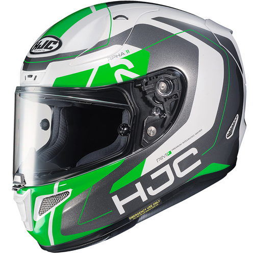 HJC RPHA 11 Chakri MC4 GREEN / GREY Helmet ALL SIZES 1953944