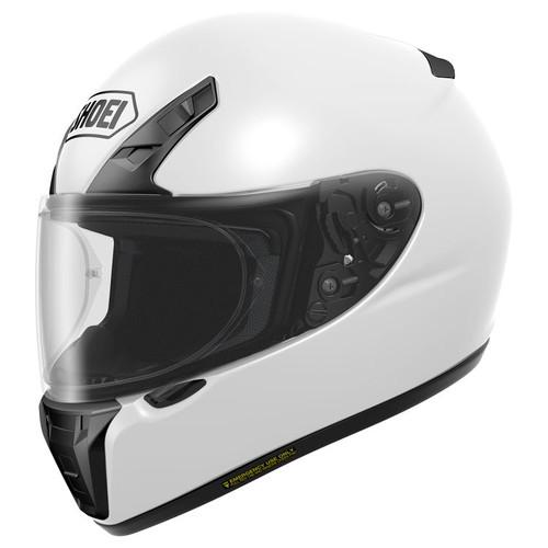 Shoei RF-SR Helmet Solid WHITE ALL SIZES 0107-0109-06