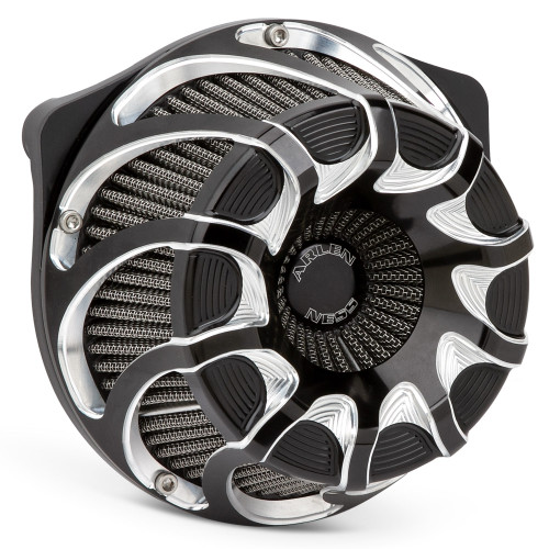 ARLEN NESS 18-987 Drift Inverted Series Air Cleaner Black 17-19 FL TOURING