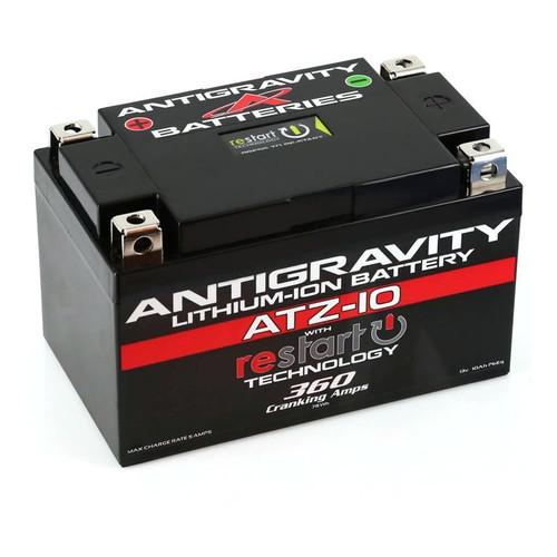Antigravity ATZ-10 ReStart 360CA Lithium Ion Battery AG-ATZ10-RS