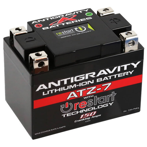 Antigravity ATZ-7 RESTART 150 CA 7 Ah Lithium Ion Battery AG-ATZ7-RS