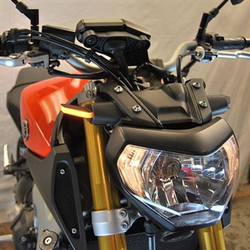 NRC FZ09-FB Front Turn Signals YAMAHA FZ-09 FZ09 14-16