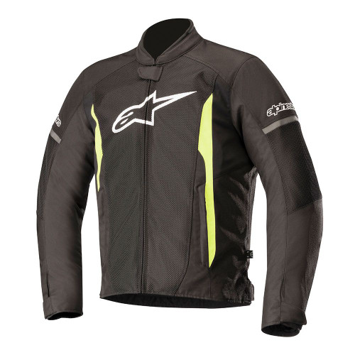 Alpinestars T-Faster Air Jacket 3303618 BLACK/ FLUO YELLOW ALL SIZES