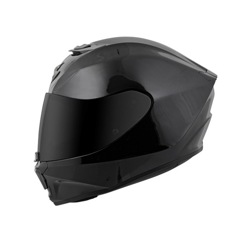 SCORPION EXO-R420 GLOSS BLACK HELMET 42-0035 ALL SIZES