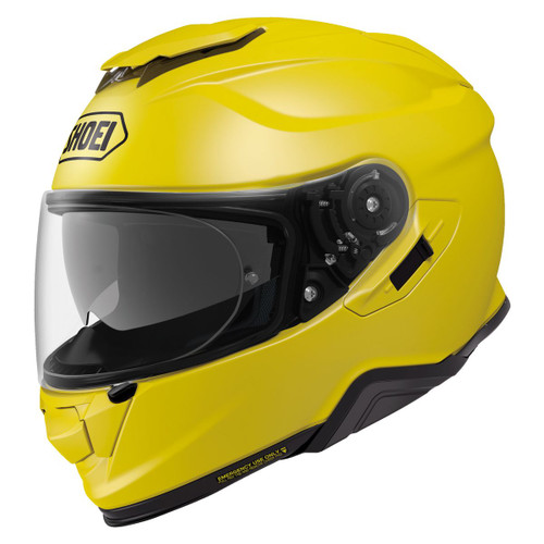SHOEI GT AIR 2 II Helmet YELLOW ALL SIZES 0119012306