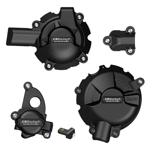 GB RACING COMPLETE ENGINE COVER SET S1000RR 2020 EC-S1000RR-2019-SET-GBR