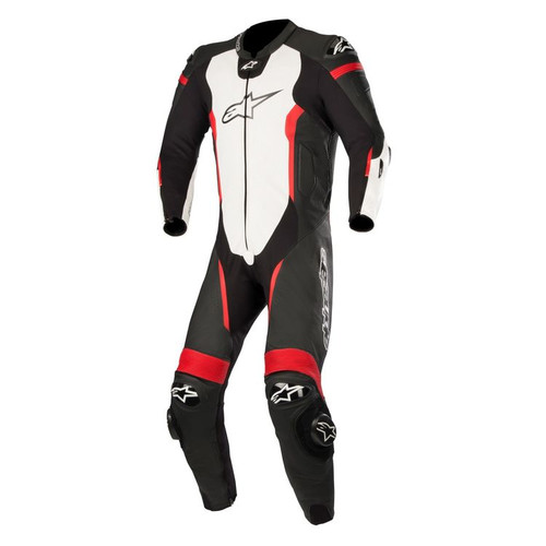 ALPINESTARS MISSILE LEATHER SUIT ALL SIZES BLACK WHITE RED 3150118-1231