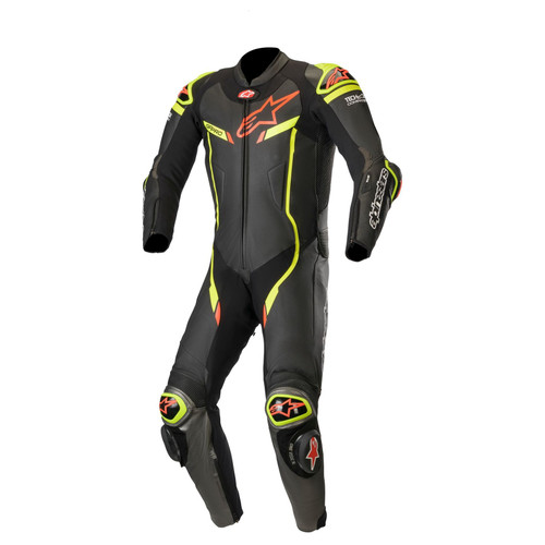 Alpinestars GP PRO V2 RACE SUIT BLACK/GREY/YELLOW 3155019-1028 ALL SIZES