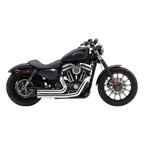 COBRA 6705 Speedster Short 909 CHROME EXHAUST SYSTEM SPORTSTER 14-19
