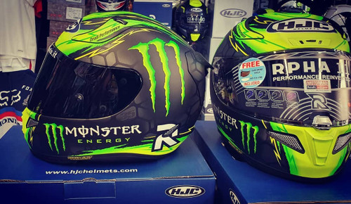 HJC RPHA 11 PRO CRUTCHLOW MONSTER HELMET ALL SIZES 0803353406