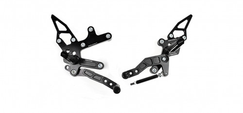 DRIVEN DRP-736 TT REARSETS REAR SET KIT NINJA 400 18-19