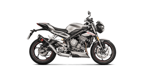 AKRAPOVIC S-T7SO2-APC CARBON SLIP-ON EXHAUST STREET TRIPLE 765 17-19
