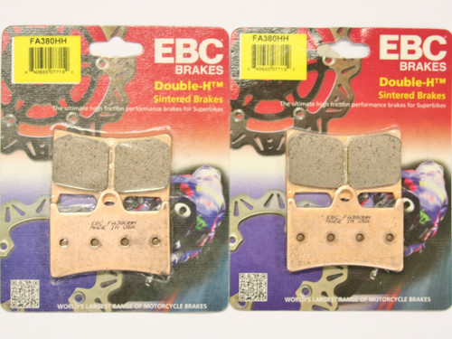 EBC FA380HH FRONT 2 SETS BRAKE PADS HH SINTERED