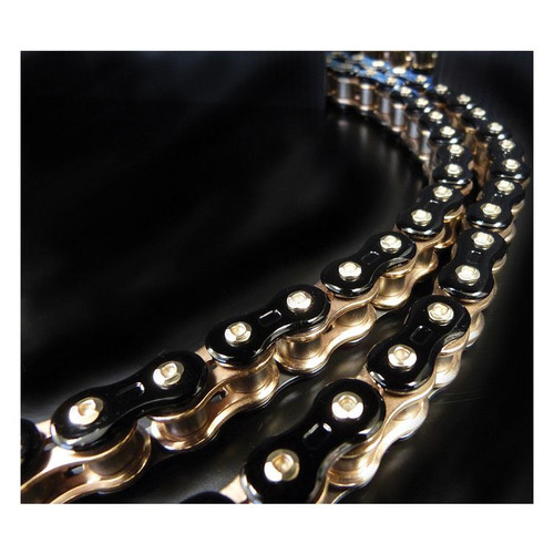 EK 3D 520GP 520 Z3D Chain 120 LINKS BLACK/GOLD 520Z3D-120KG