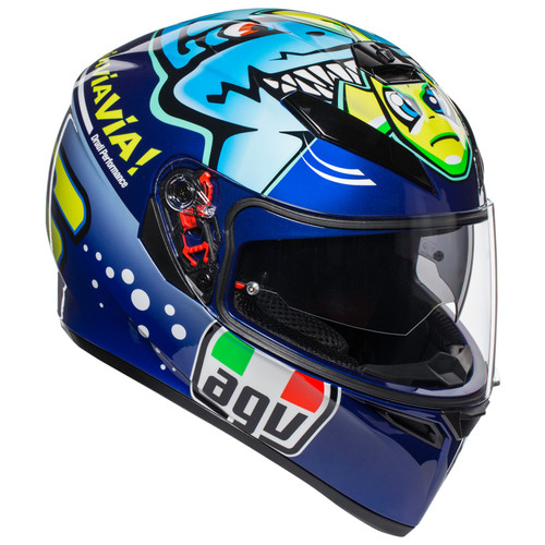 AGV K3 SV Rossi Misano 2015 HELMET ALL SIZES 210301O0MY00409