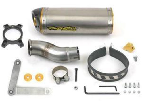 TWO BROTHERS 005-1420408V M2 TI  SO EXHAUST NINJA 650R 650 06-11