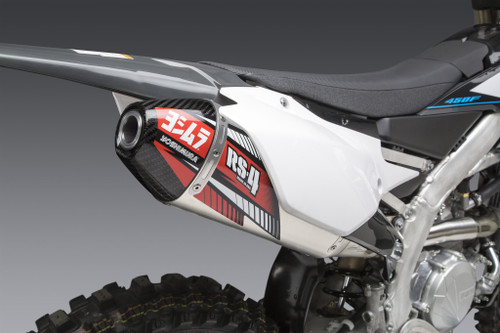 YOSHIMURA 234832D320 RS-4 SLIP-ON EXHAUST YZ450F 2020 20
