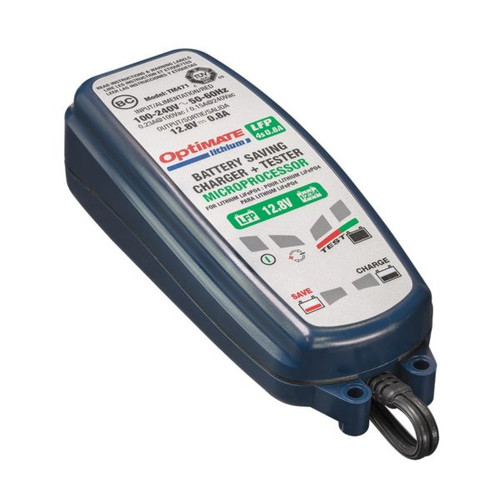 OPTIMATE TECMATE 4s 0.8A LITHIUM BATTERY CHARGER TM471
