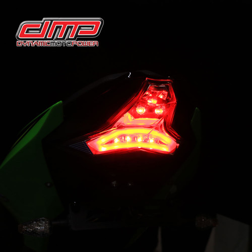 DMP smoked integrated tail light & blinkers 905-4159D zx6r & 400 18-20