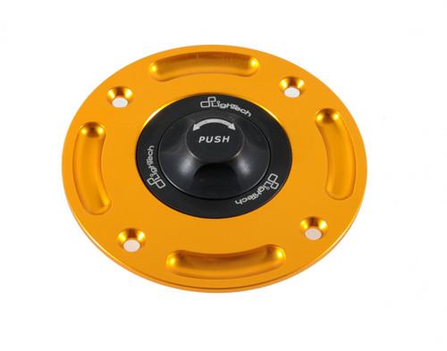 LIGHTECH Rapid Locking FUEL GAS CAP & BASE SET CHOICE OF COLOR MT09 FZ09 R3