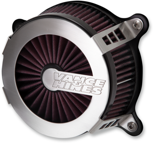 VANCE  & HINES 70066 Brushed Al VO2 Cage Fighter Air Intake Kit 70066 FL 18-20
