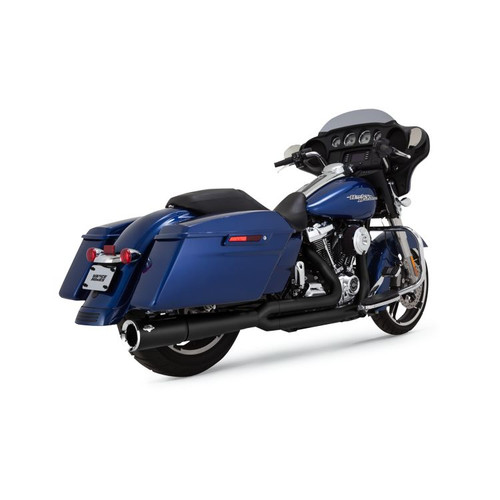 VANCE & HINES 47583 BLACK Pro-Pipe 2-Into-1 Exhaust System FL 17-20